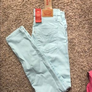 Levi's women's size 4/27 high rise skinny ankle